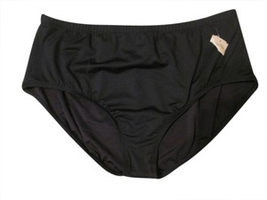 Coldwater Creek NWT Coldwater Creek Black Bikini Bottoms size 10