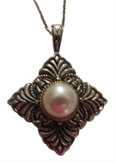 Other 14k and Sterling Pearl Pendant w/ Free Chain