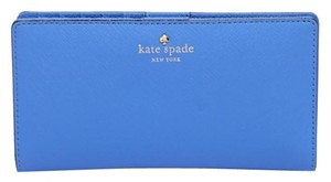 Kate Spade Cedar Street Stacy Adventure Blue Continental Wallet