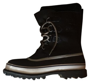 Sorel Black/Navy Boots
