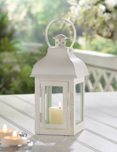 10- Gable White Lanterns