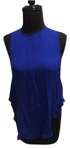Haute Hippie Top Cobalt Blue
