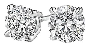 LoveBrightJewelry Coolest Offer For Natural Diamond Studs in White Gold