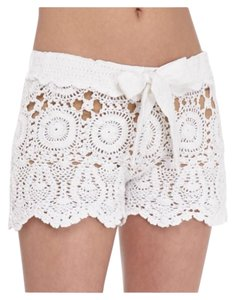 Letarte Swimwear Mini/Short Shorts White