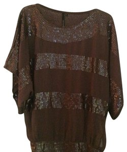 Kay Celine Top Brown