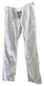 James Perse Linen Pant Straight Pants White