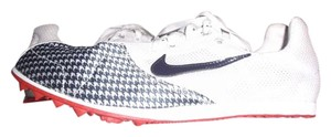 Nike Cleats Running Jana Star Ii Track Field RED WHITE & BLUE Athletic
