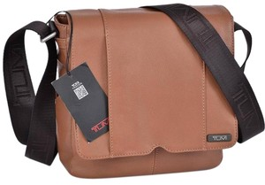 Tumi Messenger Messenger Crossbody Brown Messenger Bag