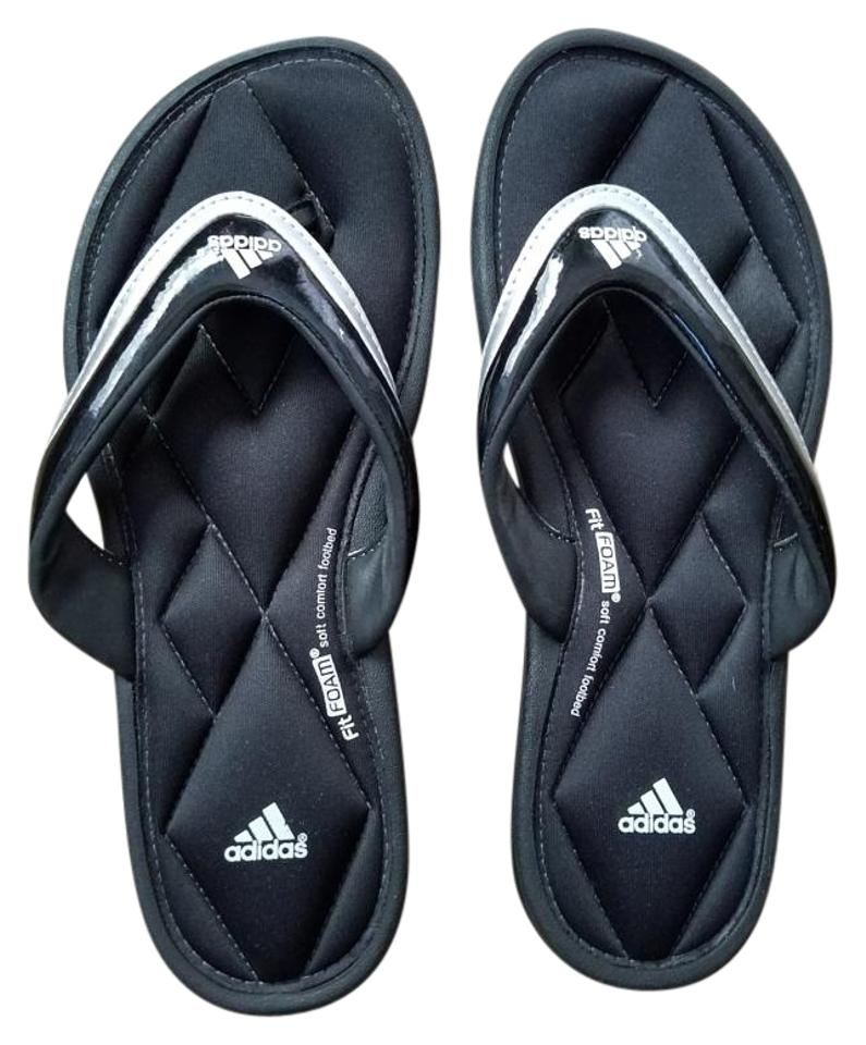 61757ff3b adidas Black Fit Foam Sandals Size US 7 Regular (M