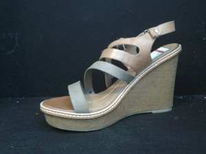 Dolce Vita Leather Strappy Sand Wedges