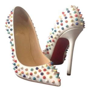 Christian Louboutin Sexy Trendy Stylish Multicolor Pumps