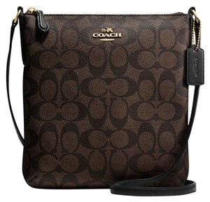 Coach Swingpack F35940 North/south Signature Cross Body Bag