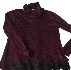 Maurices Top Maroon