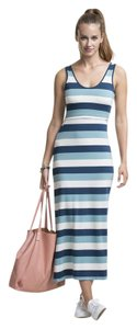Boob Boob Striped Nursing Maxi Dress