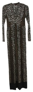 Leopard Print Maxi Dress by Nadia Tarr