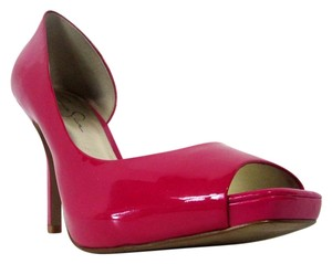 Jessica Simpson Stiletto Peep Toe Heels Pink Pumps