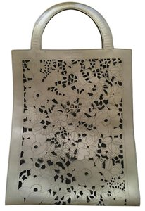 Dolce&Gabbana Tote in Patent leather gray