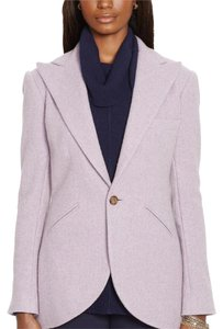 Lauren Ralph Lauren Wool Purple Blazer
