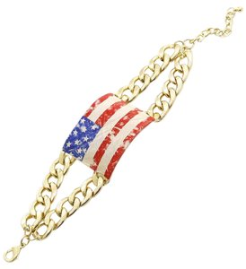 Other Bold Statement Braclet American FlagTheme