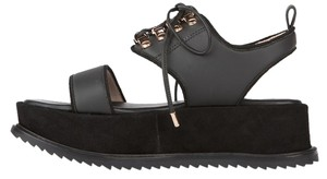 Matisse Dawn Kate Bosworth Suede Black Platforms