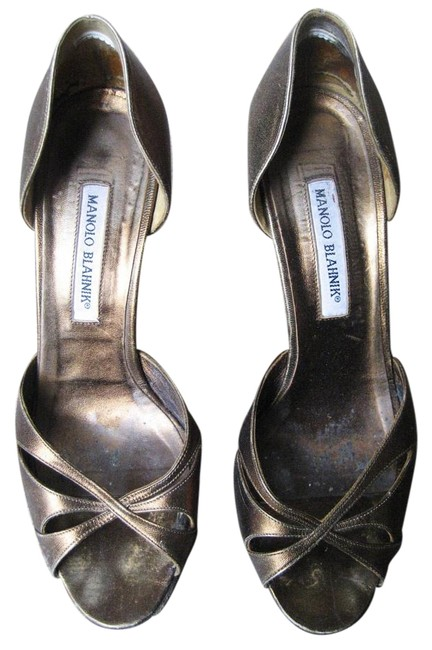 Item - Metallic Bronze Sandals Size US 9 Regular (M, B)