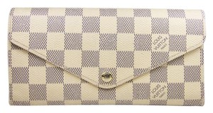 Louis Vuitton Louis Vuitton Josephine Wallet In Damier Azur Monogram