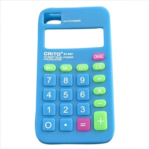 Crito Crito Fake Calculator iPhone Case