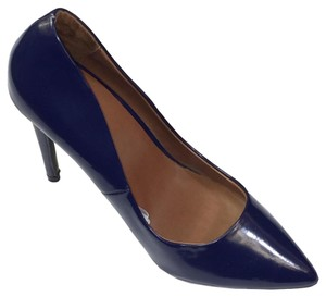 Mossimo Supply Co. Classic Work Attire Casual Blue Pumps