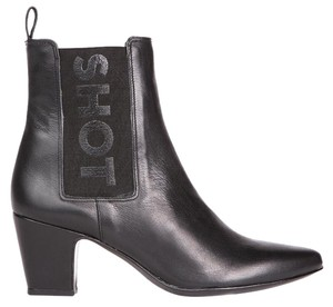 Matisse Kate Bosworth Leather Bootie Black Boots