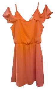 Charming Charlie short dress Coral on Tradesy