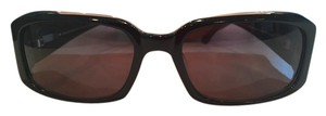 Tommy Bahama Tommy Bahama Brown Rectangular Sunglasses