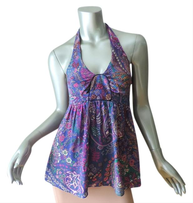 Preload https://item1.tradesy.com/images/alice-and-trixie-silk-halter-top-blue-and-pink-1749865-0-0.jpg?width=400&height=650