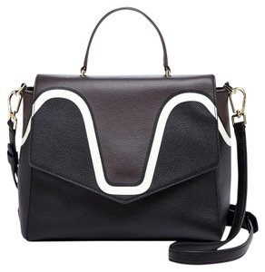 Tory Burch Satchel in Expresso/black