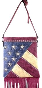 Montana West American Pride American Flag Cross Body Bag