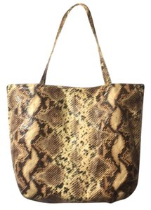 Saks Fifth Avenue Tote in Snake