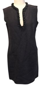 Lanvin short dress Navy on Tradesy