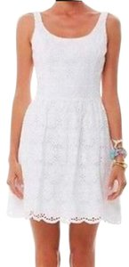Lilly Pulitzer short dress White Charleston Eyelet Eyelet on Tradesy