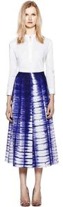 Tory Burch Lela Rose Isabel Marant Skirt Blue
