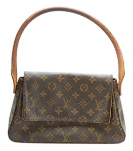 Louis Vuitton Pm Looping Canvas Shoulder Bag