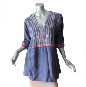 CAbi New With Tag Linen Tunic