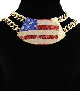 Other American Flag Necklace