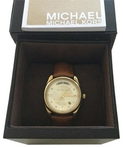Michael Kors Michael Kors Gold Watch With Swarovski Crystals