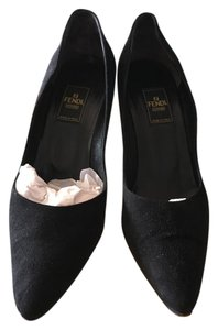 Fendi Nero swede Pumps
