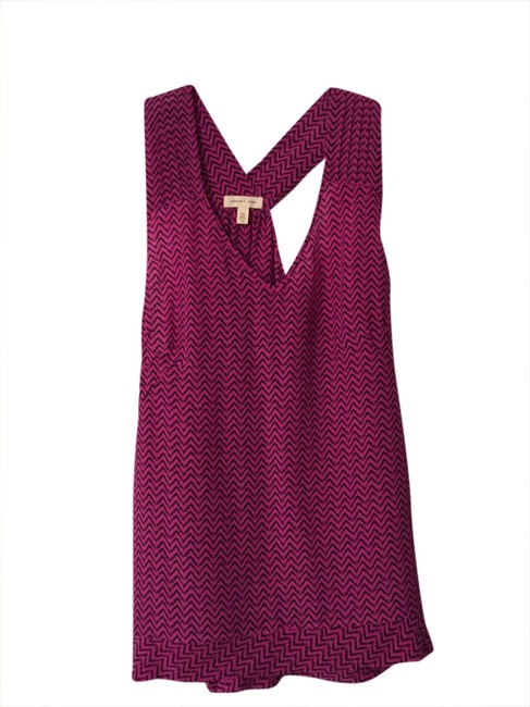 Preload https://item1.tradesy.com/images/silence-noise-magenta-and-black-silk-blouse-size-8-m-1750100-0-0.jpg?width=400&height=650