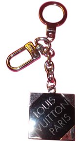 Louis Vuitton Auth Louis Vuitton Porte Cles Damier Key Key Ring Shoulder Bag