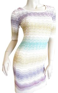 Missoni short dress Multi-Color Zig Zag Print on Tradesy