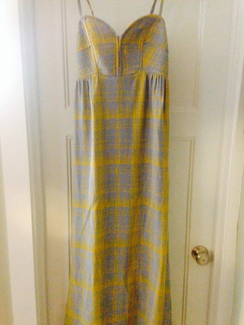 Item - Blue Graphic Long Casual Maxi Dress Size 8 (M)