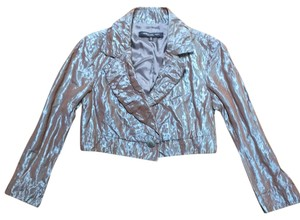 Carmen Marc Valvo Top Metallic