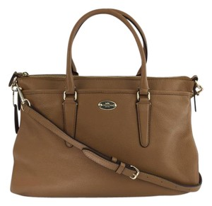 Coach Morgan Saddle Satchel in Tan