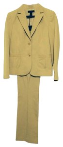 The Limited Tan 2-piece Pant Suit